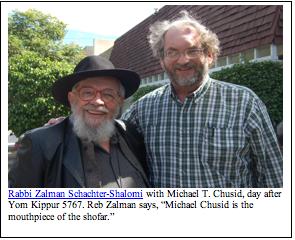 chusid en rabbi Zalman Schachter