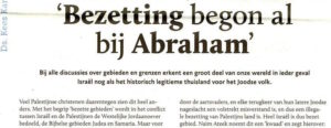 bezetting Abraham