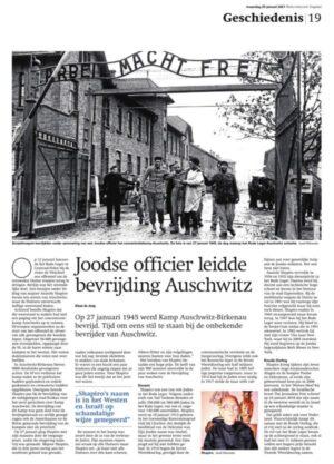 Artikel RD: Joodse majoor leidde bevrijding Auschwitz