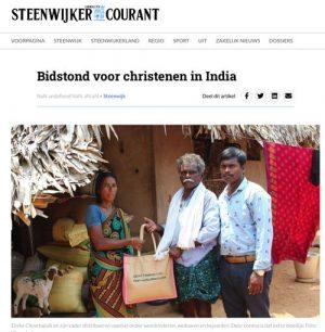 Bidstond in Steenwijk voor India