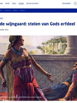 Izebel: stelen van Gods erfdeel
